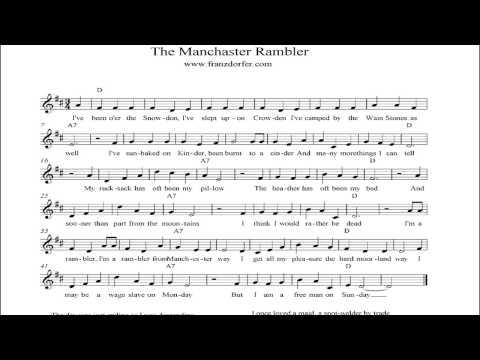 The Manchester rambler - instrumental