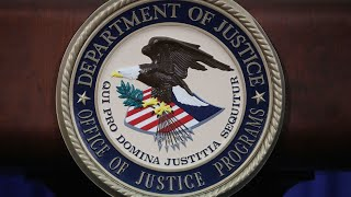 US Justice department holds news conference on national security