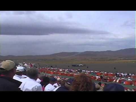 Wayne Handley Oracle Turbo Raven 1 minute flight Reno Air Races