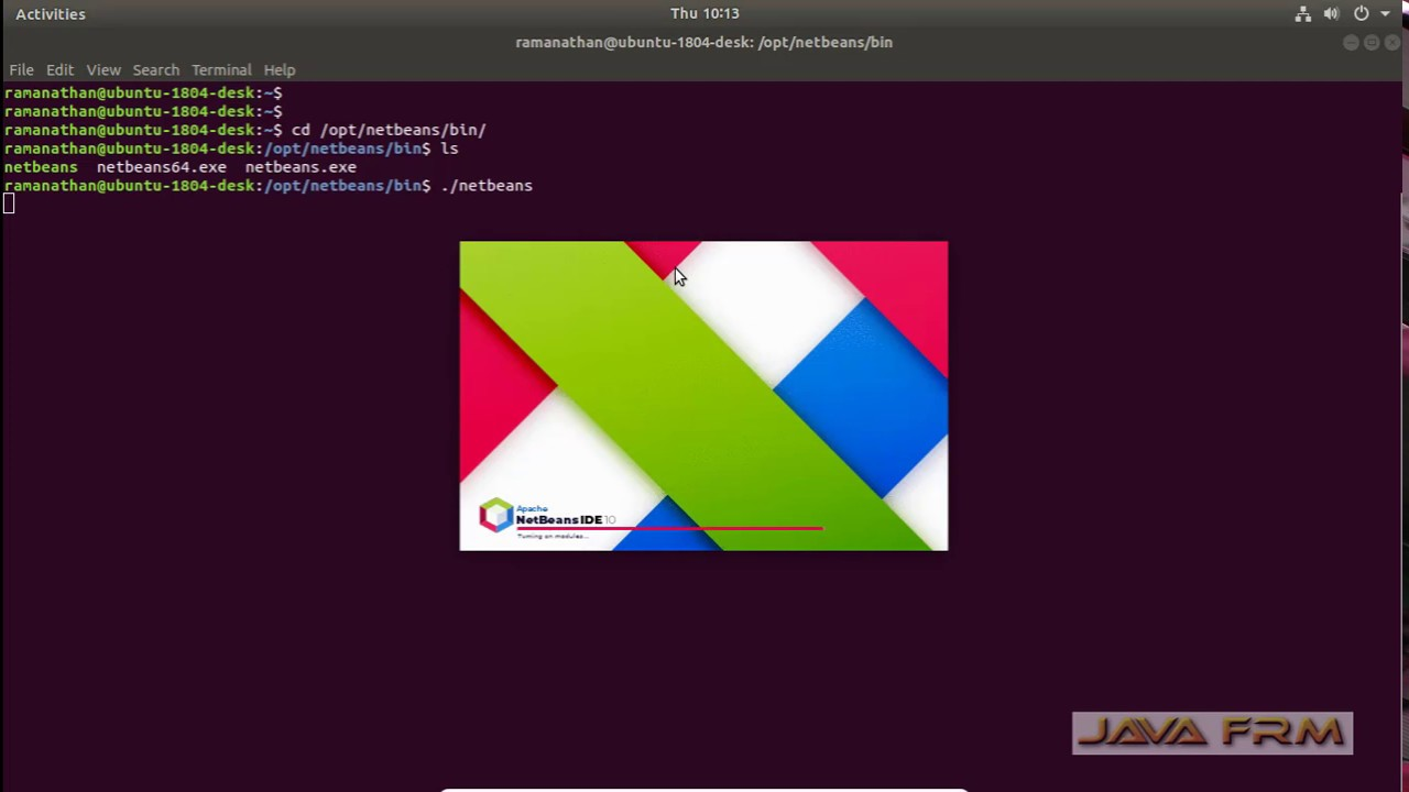 Apache NetBeans 10 Installation on Ubuntu 18 04 LTS and Java 11 Modular  Programming