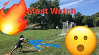 Amazing 11 year old soccer goalkeeper