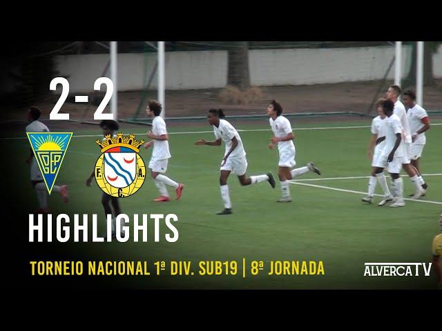 Estoril Praia 2-2 FC Alverca   Highlights
