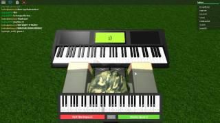 DON'T STOP BELIEVEING BEGINNING | ROBLOX VIRTUAL PIANO