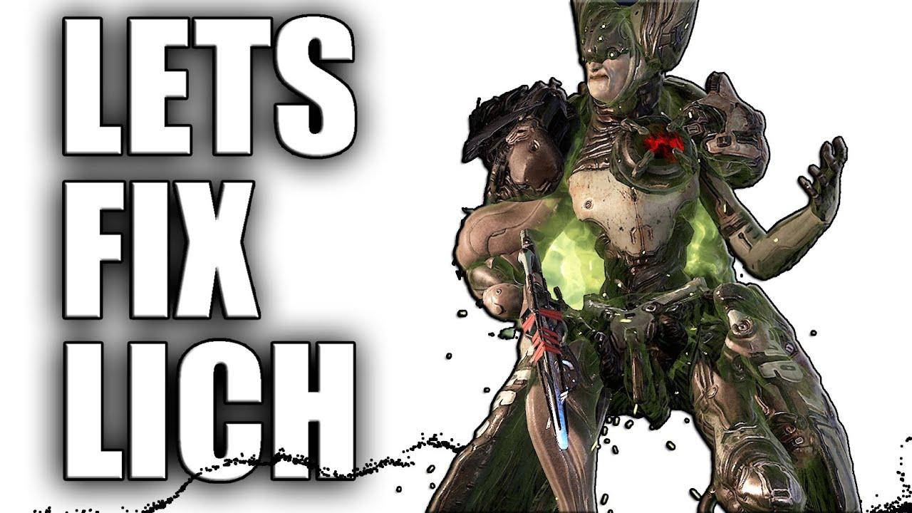 Lets Fix Kuva Liches - Warframe Discussion thumbnail