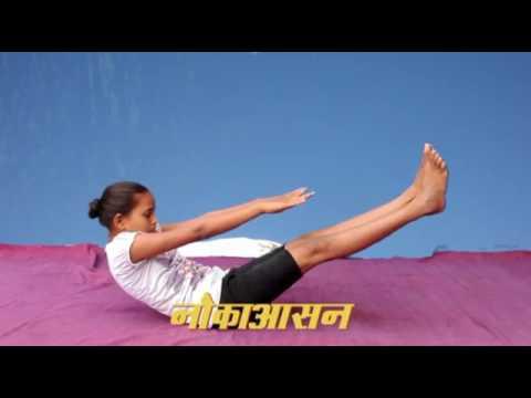 Yoga in School, Girls Upper Primary School, Bhatapara, Chhattisgarh
