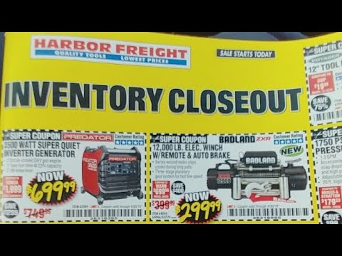 Harbor Freight 🚢🔧Live! Pt.8...Wow!😱