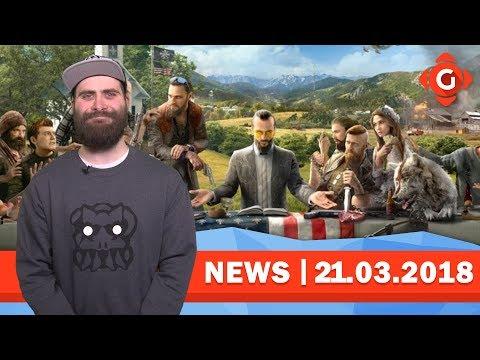 Far Cry 5: So lange dauert das Spiel! Jurassic World Evolution: Release geleakt! | GW-NEWS