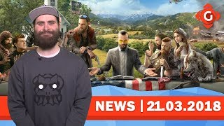 Far Cry 5: So lange dauert das Spiel! Jurassic World Evolution: Release geleakt! | GW-NEWS