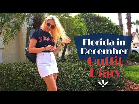 Outfit Diary: What To Wear In Florida In December | Love From Lucy