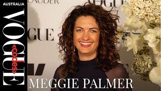 Meggie Palmer backstage interview at Vogue Codes 2019 in Sydney   Vogue Codes   Vogue Australia