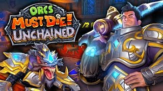 Orcs Must Die UNCHAINED Gameplay! - Ft. The Completionist