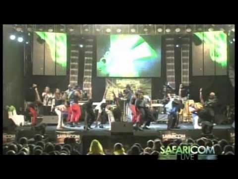 Sauti Sol Blue Uniform (Niko Na Safaricom Live Meru Concert)