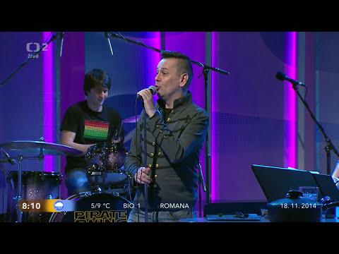 Jiri Sevcik + PIRATE SWING Band - Kaczeroff (live, Dobré ráno 2014)