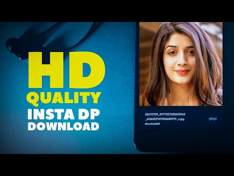 How To Download Instagram Profile Pictures