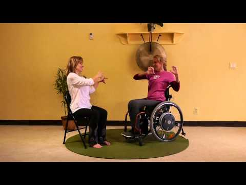 Mini Adaptive Chair Yoga Class for People in Wheelchairs with Sherry Zak Morris