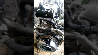 Nissan URVAN NV350 engine assembled by me in Kuwait...