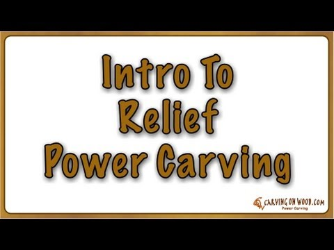 01 Relief Power Carving - High Speed Engraving - Daisy Carving Introduction