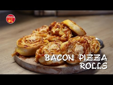 How to make Bacon Pizza Rolls