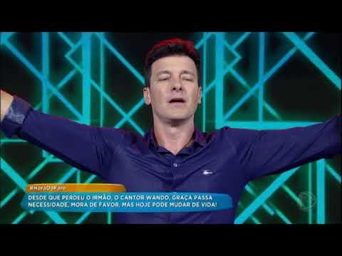 Rodrigo Faro Solta A Voz E Canta Fogo E Paixão Para Homenagear O Cantor Wando