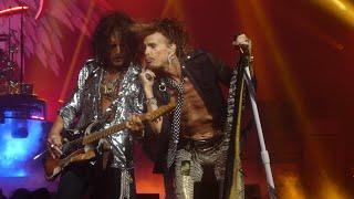 """Joe Gets Angry at Steven & Dream On & Walk This Way"" Aerosmith@Oxon Hill, MD 8/10/19"