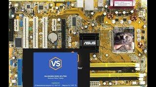материнка не поддерживает память, тест SolveigMM Video Splitter