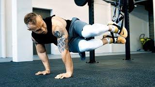 TOP 3 Sling Trainer Bauch Übungen | TRX Bauchtraining | Aerosling CORE Übungen