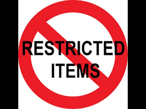 Restricted Products on Amazon ,  First Sale Doctrine