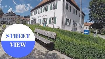 STREET VIEW: Pfronten im Allgäu in GERMANY