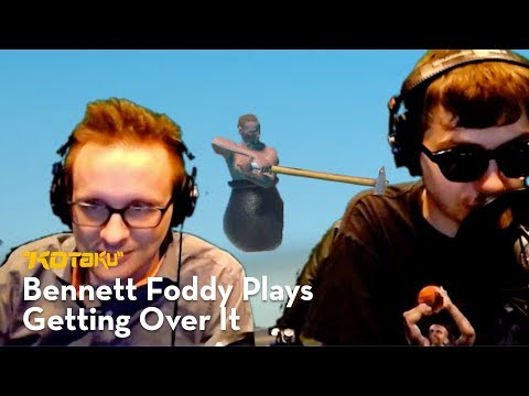 Bennett Foddy Plays Getting Over It With Bennett Foddy