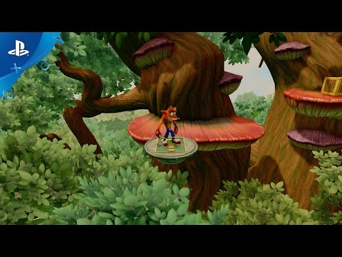 Crash Bandicoot N. Sane Trilogy - Hang Eight Level Playthrough Video | PS4