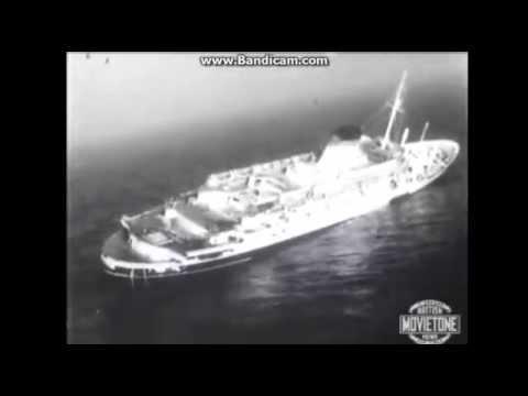 Andrea Doria - Sinking Footage
