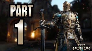 ► For Honor ALPHA | #1 | Craftění, 1vs1 a RAGE! | CZ Lets Play / Gameplay [1080p] [PC]