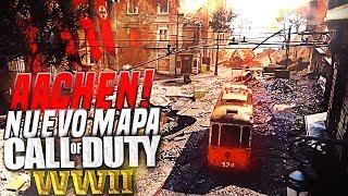 """NUEVO MAPA """"AACHEN"""" EN Call of Duty WW2! - TRÁILER"""