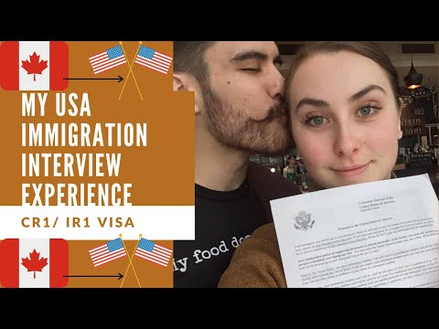 MY CR1/IR1 USA IMMIGRATION INTERVIEW EXPERIENCE| APPROVED! DOCUMENTS & QUESTIONS. (MONTREAL)