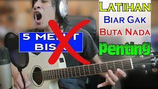 Jangan Percaya Latihan Gitar 5 Menit Bisa! Latihan Biar Ga Buta Nada (Peka Nada) Saat Bermain Gitar
