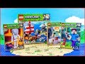 COMPILATION LEGO MINECRAFT All New Winter Sets Construction Toy - UNBOXING