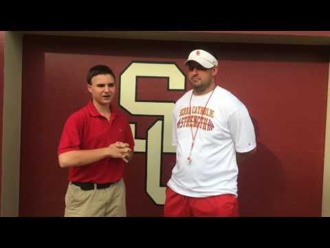 Serra Catholics Tony St. Angelo Pre-Game Interview Week 4