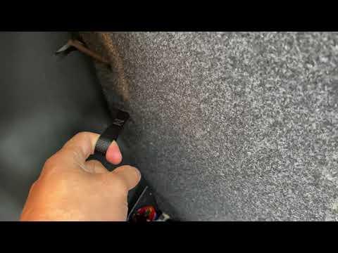Mitsubishi Mirage – How To Lay Rear Seats Down Flat