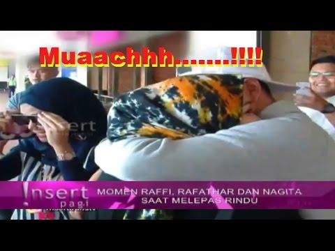 Tak Kuat Menahan RINDU, Raffi Ahmad Langsung CUMBUI Nagita Slavina ~ Gosip Terbaru 1 November 2016