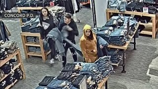 Shoplifting Trio Nabs Dozens of Pairs of Jeans From Concord Store