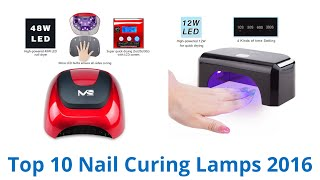 10 best nail curing lamps 2016