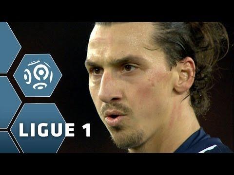 Zlatan Ibrahimovic's FANTASTIC game - 2 goals, 2 assists PSG-Sochaux - 2013/2014
