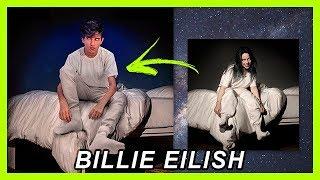 EDIÇÃO DE FOTO | BILLIE EILISH CAPA DO NOVO ALBUM