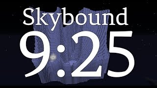 Minecraft Speedrun: Skybound (9:25)