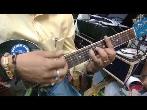 Kaun Hai Jo Sapno Full Guitar Tab+Chords lesson.
