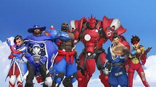 Overwatch World Cup - Sinaatra POV - South Korea vs United States (Doomfist focus)