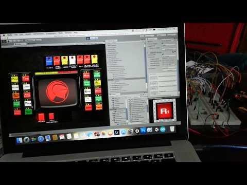 Knight Rider Dash software Progress
