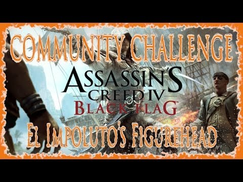 AC IV BLACK FLAG | COMMUNITY CHALLENGE | SINK 2 MAN O' WARS  FOR EL IMPOLUTO'S WHEEL | HD