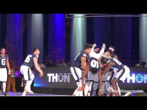 THON 2016 Pep Rally - Football