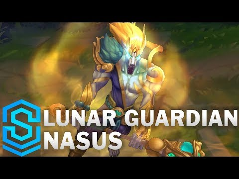 Lunar Guardian Nasus Skin Spotlight - Pre-Release - League of Legends